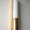 Brass and Glass Wall Lights or Sconces by Glashutte Limburg 4