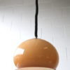 Brown 1970s Rise and Fall Ceiling Light 1