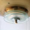 French Art Deco Brass Ceiling Light 1