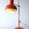 Large Orange 1970s Desk Lamp 3