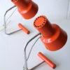 Orange 1960s Desk Lamps by Josef Hurka for Napako 3