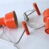 Orange 1960s Desk Lamps by Josef Hurka for Napako 4