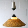 Rare 1950s Fibreglass Ceiling Light by Phillips 1