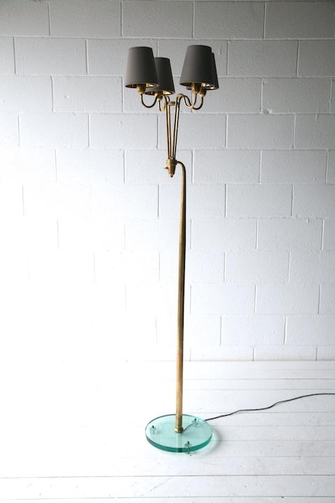 Rare 1950s floor lamp by pietro chiesa for fontana arte cream and rare 1950s floor lamp by pietro chiesa for fontana arte 1 aloadofball Images