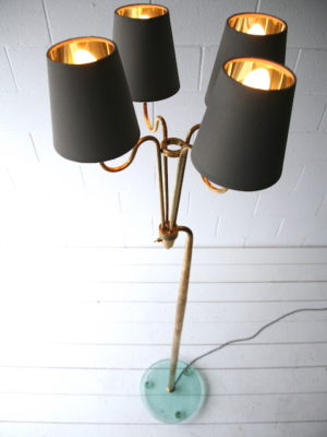 Rare 1950s Floor Lamp by Pietro Chiesa for Fontana Arte