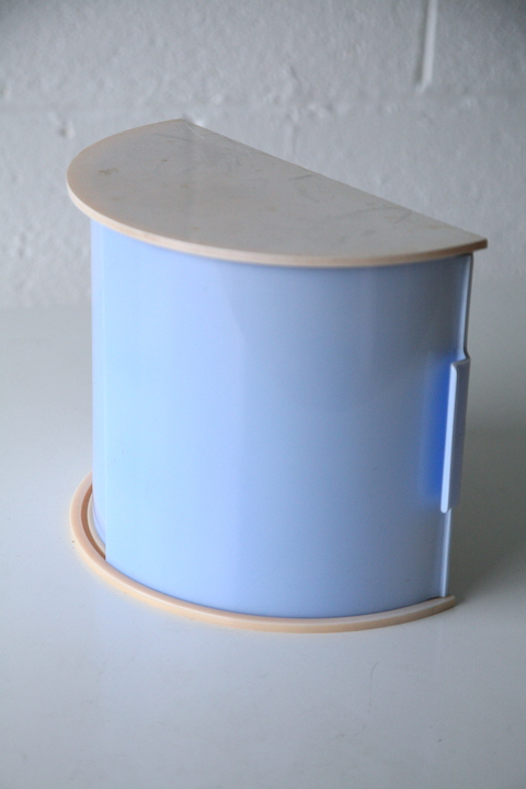 Rare Bakelite Bathroom Cabinet Cream And Chrome