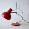 Red Desk Lamp by Josef Hurka for Lidokov