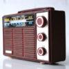 Vintage 1960s Ajax 'Diplomat' Portable Radio