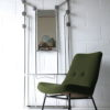Vintage French 1950s Aluminium Hall Stand
