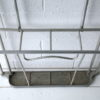 Vintage French 1950s Aluminium Hall Stand 3