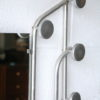 Vintage French 1950s Aluminium Hall Stand 5