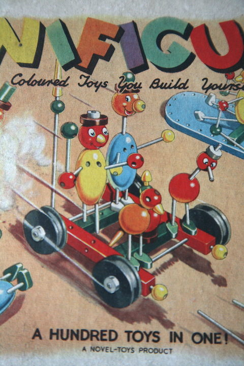 Vintage Funifigures Wooden Toy