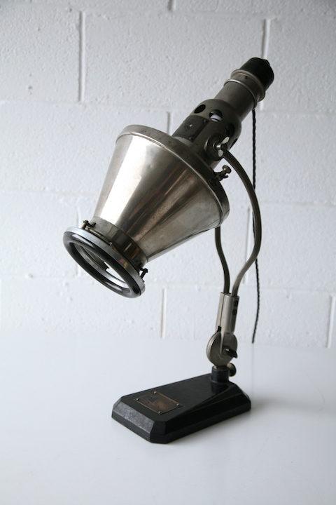 Vintage Industrial Hanau Lamp 5