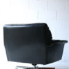 Vintage Leather Swivel Chairs 4
