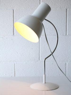 White 1960s Desk Lamps by Josef Hurka for Napako