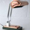 1930s Art Deco Copper Desk Lamp 1