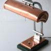 1930s Art Deco Copper Desk Lamp