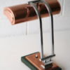 1930s Art Deco Copper Desk Lamp 3