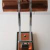 1930s Art Deco Copper Desk Lamp 4