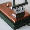 1930s Art Deco Copper Desk Lamp 6