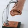 1930s Art Deco Copper Desk Lamp 7