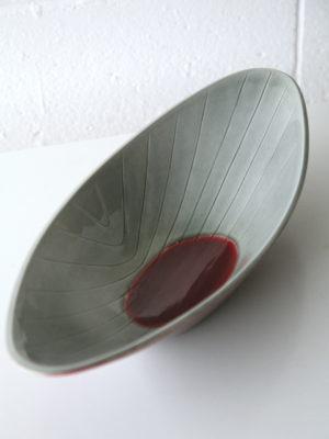 1950s Glazed Ceramic Bowl by Carl Harry Stalhane for Rorstrand, Sweden