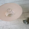 1950s Pink Ceiling Light 1
