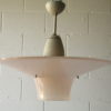 1950s Pink Ceiling Light
