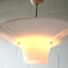 1950s Pink Ceiling Light 4