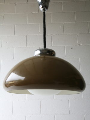 Large 1970s Rise and Fall Lamp 3