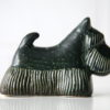 Vintage Ceramic Dog by Lisa Larson for Gustavsberg Sweden 1