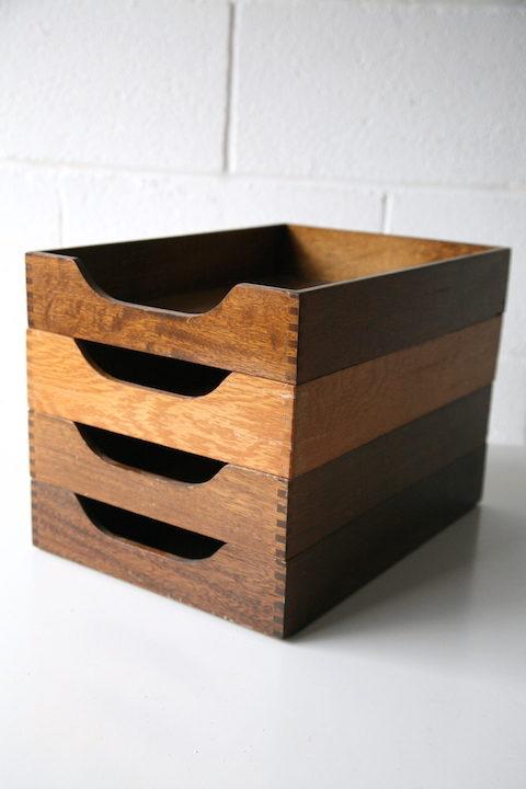 Vintage Filing Boxes 1