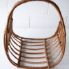 Vintage Wicker Magazine Basket 2