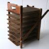 Vintage Wooden Folding Desk File 1