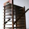 Vintage Wooden Folding Desk File 2
