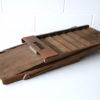 Vintage Wooden Folding Desk File 4