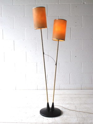 1950s Double Floor Lamp