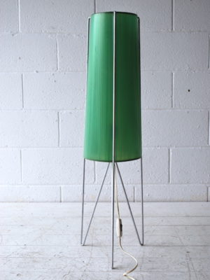 1950s Green Rocket Lamp