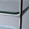 Vintage Chrome Glass Shelves 4