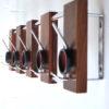 Vintage Rosewood Coat Rack