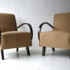 1930s Armchairs by Jindrich Halabala 1