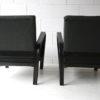 1930s Black Armchairs by Jindrich Halabala 2