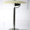 1930s Glass Chrome Desk Lamp 1