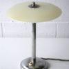 1930s Glass Chrome Desk Lamp 2