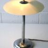 1930s Glass Chrome Desk Lamp 4