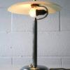 1930s Glass Chrome Desk Lamp 5
