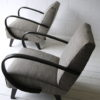 1930s Grey Armchairs by Jindrich Halabala