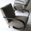 1930s Grey Armchairs by Jindrich Halabala 2