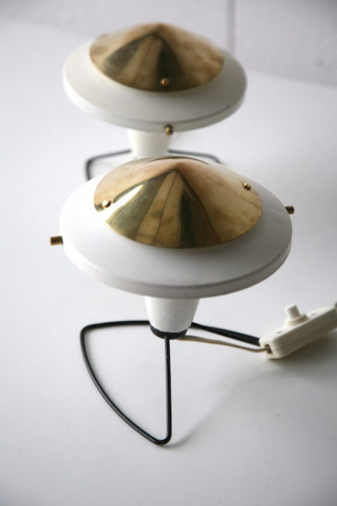 1950s Bedside Lamps by Zukov 3