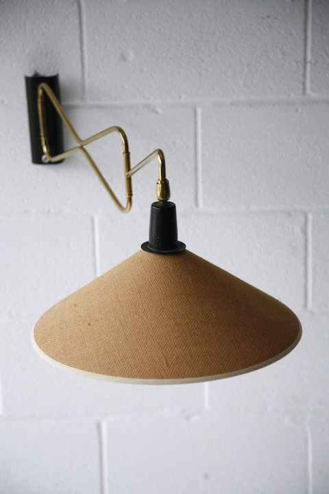 1950s French Wall Light by Lunel 3